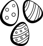 Easter eggs vector illustration Stock Photos