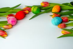 Spring is comming - Easter time stock images