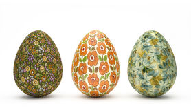 Easter Eggs - Vintage Look. Special Easter Eggs with floral vintage look royalty free stock images