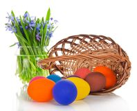 The Easter eggs Royalty Free Stock Photos