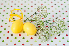 Easter composition Royalty Free Stock Images
