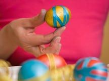 Easter eggs . Stock Image