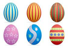 Easter eggs1 Stock Images