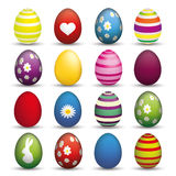 Easter Egss Set Royalty Free Stock Photo