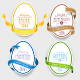 Easter emblems Royalty Free Stock Images