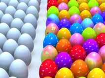 Easter end eggs Stock Image