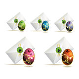 Easter envelopes Royalty Free Stock Photo
