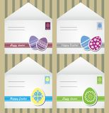 Easter envelopes Stock Photo