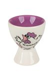 Easter сeramic egg cup Royalty Free Stock Photography