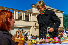 Easter ethno-fair in Uzhhorod Stock Photos