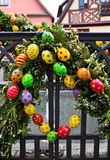 Easter in european city Royalty Free Stock Photography