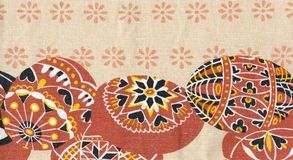 Easter fabric Royalty Free Stock Photos