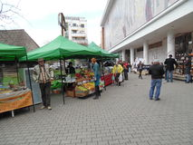 Easter Fair at the Romanian Peasant Museum. Royalty Free Stock Photography