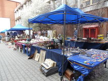 Easter Fair at the Romanian Peasant Museum. Royalty Free Stock Images