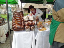 Easter Fair at the Romanian Peasant Museum. Royalty Free Stock Photo