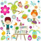 Easter feliz! ilustração royalty free