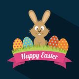Easter feliz Fotos de Stock Royalty Free