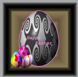 Easter feliz Foto de Stock
