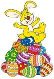 Easter feliz! ilustração do vetor