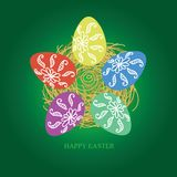 Easter feliz Fotografia de Stock Royalty Free