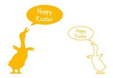 Easter feliz Fotos de Stock Royalty Free
