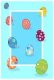 Easter feliz ilustração royalty free