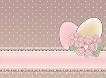 Easter festival banner Stock Image