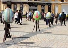 Easter Festival Easter eggs Stock Images