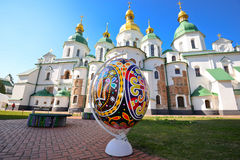 Easter Festival. The pysanky festival at Saint Sophia's Cathedral Stock Photo