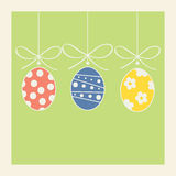 Easter festive background Stock Image