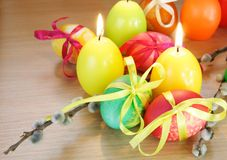 Easter Festive Composition Stock Photography