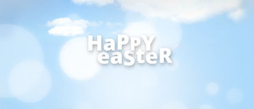 Easter Festive Easter Time. Graphic background festive design Stock Photos