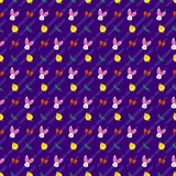 Easter Festive Seamless Pattern Royalty Free Stock Photo