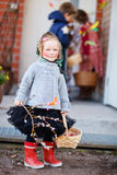 Easter Finnish traditions Royalty Free Stock Photo