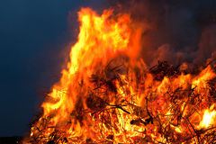 Easter fire Stock Images