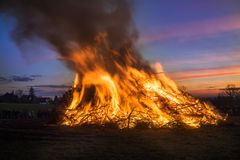 Easter fire Royalty Free Stock Images