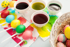 Easter five Stock Image