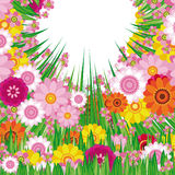 Easter Floral background royalty free stock photos