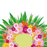 Easter Floral background Royalty Free Stock Photography