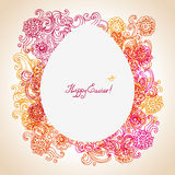 Easter floral background Royalty Free Stock Photo