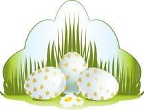 Easter floral illustration Stock Image