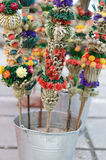 Easter Flower Bouquets. For Palm Sunday royalty free stock image