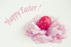 Easter flower. Easter egg. Stock Photos