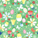 Easter flower texture Royalty Free Stock Images