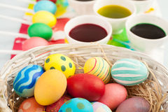 Easter focus Royalty Free Stock Photos