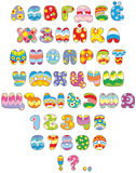 Easter font Royalty Free Stock Image