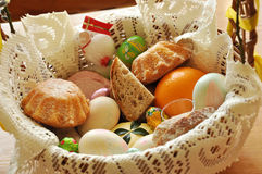 Easter food Stock Image