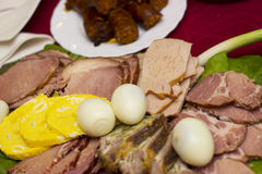 Easter food Stock Photography