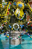 Easter fountain Royalty Free Stock Photo