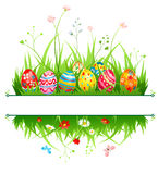 Easter frame royalty free illustration